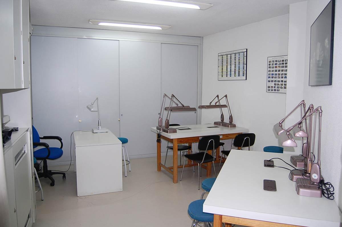 Laboratorio graduación de diamante