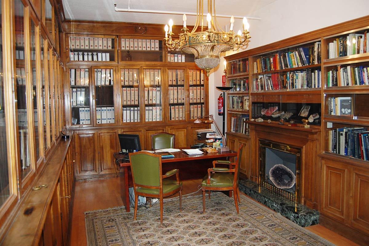 Biblioteca gemología