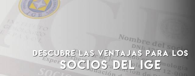 Socios del IGE