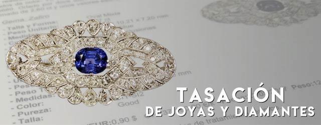 Tasación de joyas y diamantes