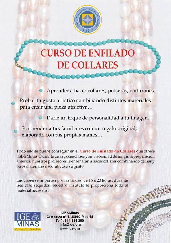 Curso de Enfilado de Collares (ENF)