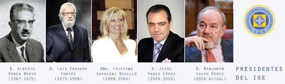 Presidentes del IGE