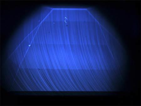 Observación de la culata en luz UV corta de DiamondView